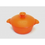 CASSEROLE TWO HANDLES 27CM - 350CL - INDUCTION ORANGE