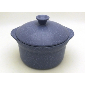 POT TWO HANDLES 25CM - 400CL BLUE STONE