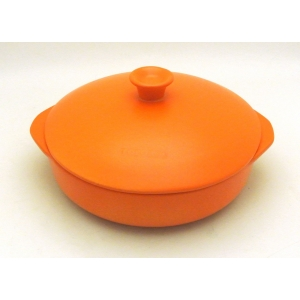 PAN TWO HANDLES 25CM - 200CL ORANGE
