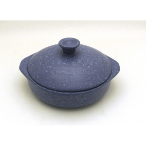 PAN TWO HANDLES 25CM - 200CL INDUCTION BLU STONE
