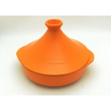 TAJINE TWO HANDLES 29,5CM - 350CL ORANGE