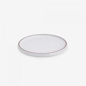 Set 6 side plate white diam. 22cm