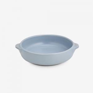 Ciotola zuppa 2 manici in ceramica gres