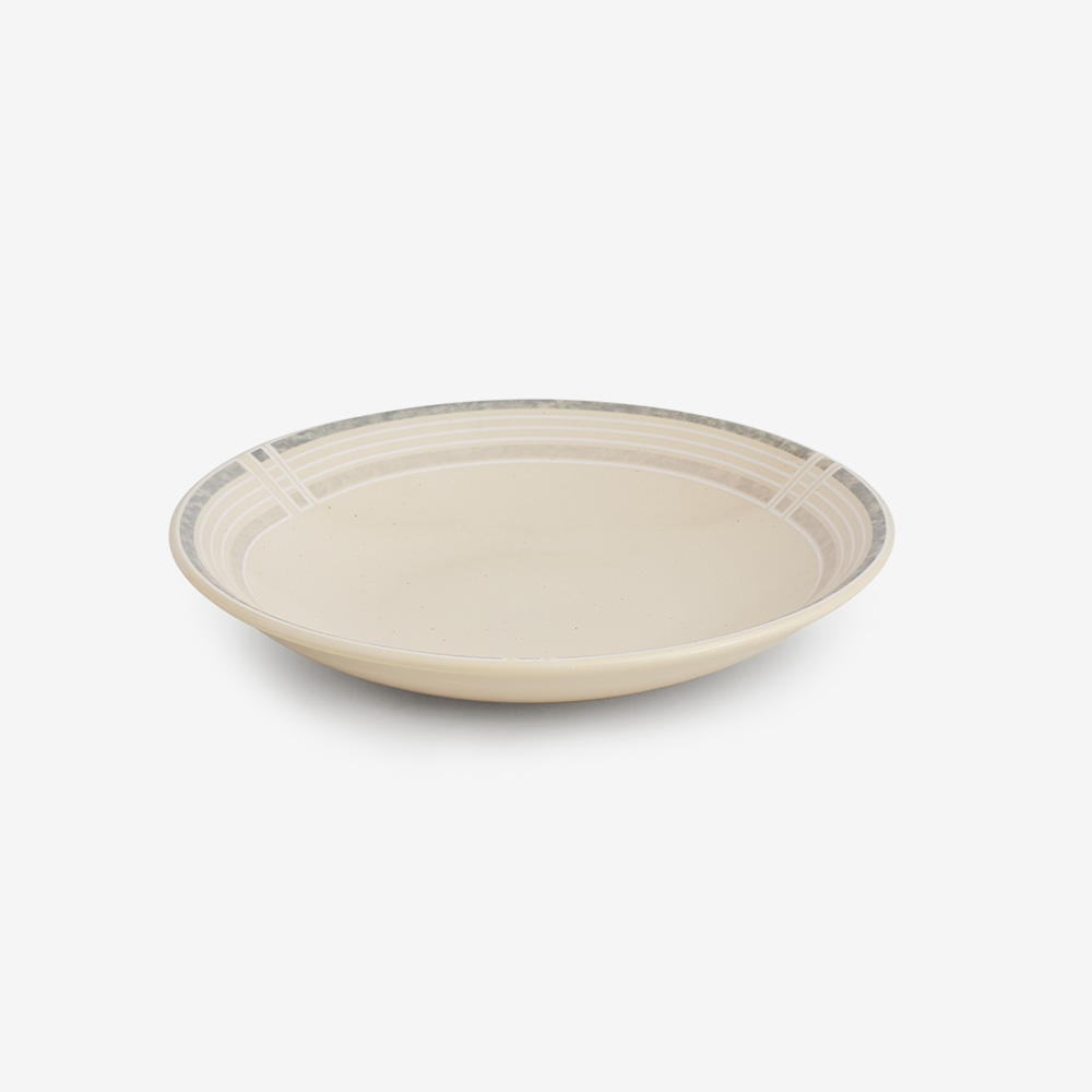 Piatto fondo avorio diam. 21 cm - set 6 pz