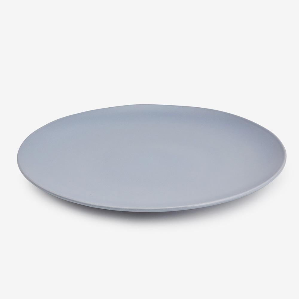 Piatto piano ceramica gres diam. 32 cm - Set 4 pz