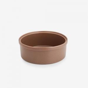 Pirofila rotonda in ceramica gres